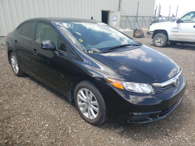Vehiculos salvage en venta de Copart Rocky View County, AB: 2012 Honda Civic LX