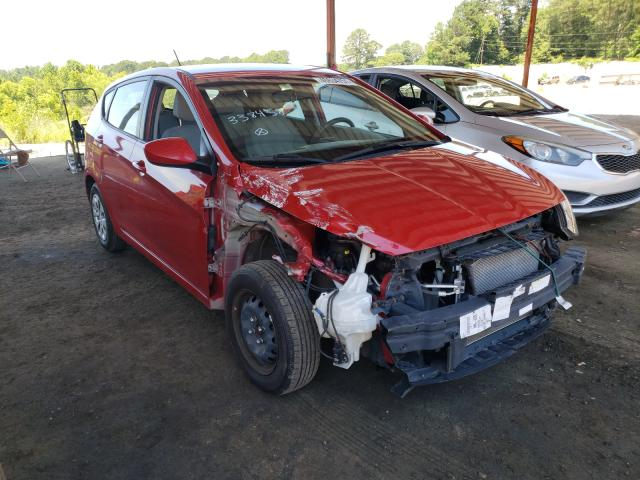 Salvage cars for sale from Copart Fairburn, GA: 2017 Hyundai Accent SE