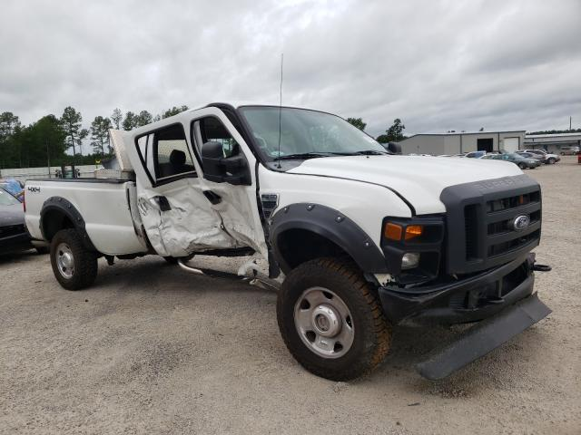 Salvage trucks for sale at Harleyville, SC auction: 2009 Ford F350 Super