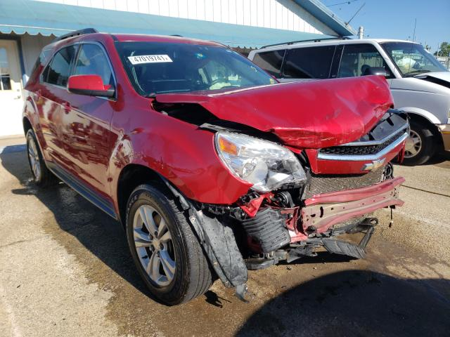 Salvage cars for sale from Copart Pekin, IL: 2015 Chevrolet Equinox LT