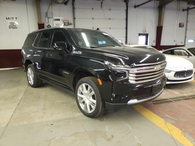 Salvage cars for sale from Copart Marlboro, NY: 2021 Chevrolet Tahoe K150