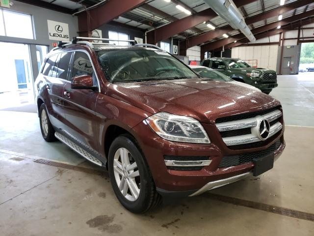 Salvage cars for sale from Copart East Granby, CT: 2013 Mercedes-Benz GL 450 4matic