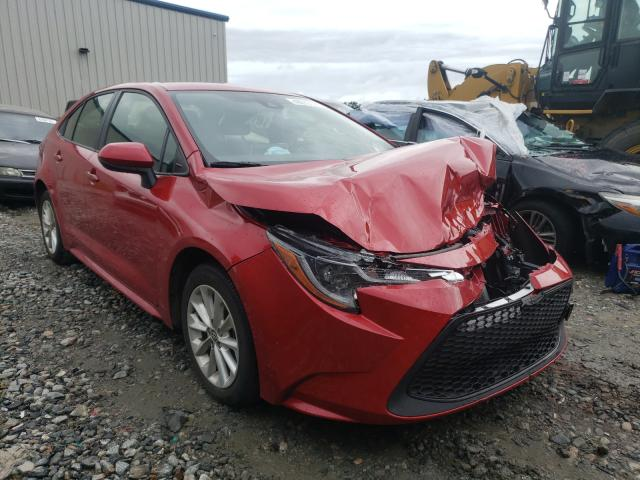 Salvage cars for sale from Copart Byron, GA: 2021 Toyota Corolla LE