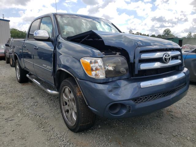 Salvage cars for sale from Copart Spartanburg, SC: 2006 Toyota Tundra DOU