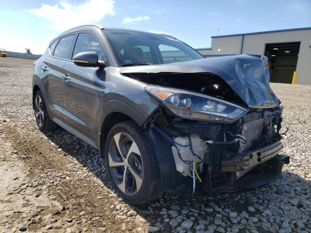 Salvage cars for sale from Copart Earlington, KY: 2017 Hyundai Tucson Limited