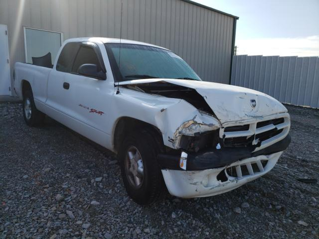 Salvage cars for sale from Copart Lawrenceburg, KY: 1997 Dodge Dakota