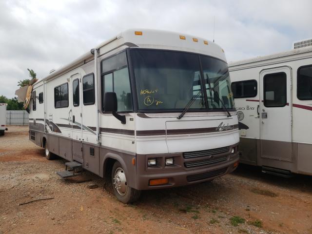 Salvage cars for sale from Copart Oklahoma City, OK: 2000 Winnebago RV