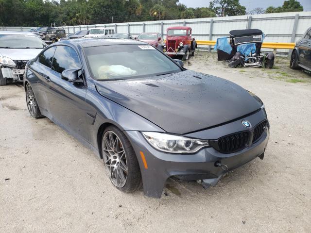 BMW Vehiculos salvage en venta: 2017 BMW M4