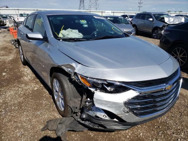 Salvage cars for sale from Copart Elgin, IL: 2020 Chevrolet Malibu LT
