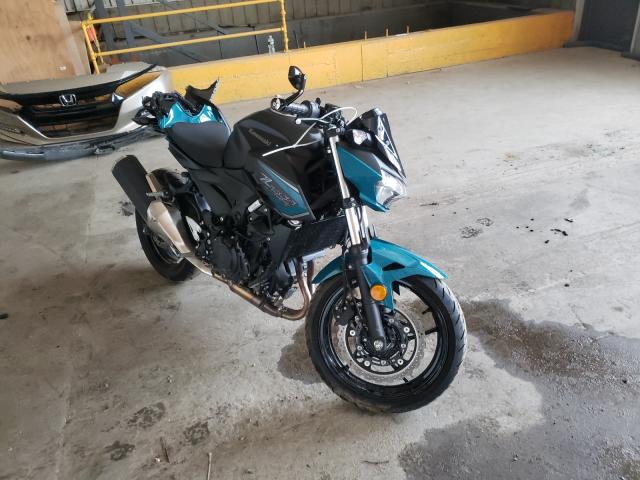 Salvage motorcycles for sale at Candia, NH auction: 2021 Kawasaki ER400 D