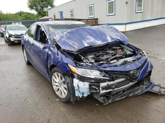 Salvage cars for sale from Copart Duryea, PA: 2018 Toyota Camry L