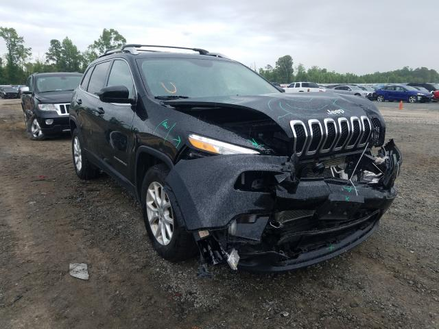 Jeep salvage cars for sale: 2018 Jeep Cherokee L