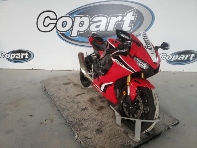 Salvage cars for sale from Copart Haslet, TX: 2018 Honda CBR1000 RR