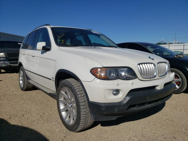 Salvage cars for sale from Copart Nisku, AB: 2005 BMW X5 4.4I