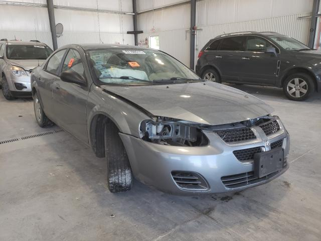 Salvage cars for sale from Copart Greenwood, NE: 2006 Dodge Stratus SX