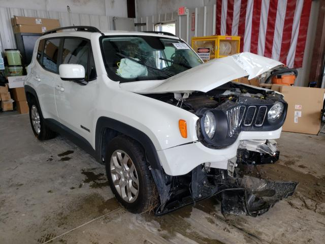 Salvage cars for sale from Copart Ellenwood, GA: 2017 Jeep Renegade L