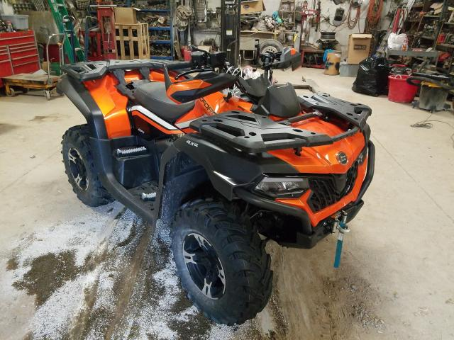 Salvage cars for sale from Copart Billings, MT: 2021 Can-Am Cforce 600