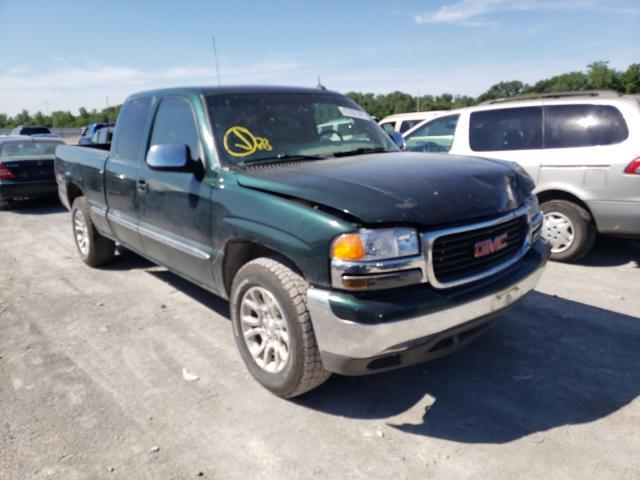 Salvage trucks for sale at Alorton, IL auction: 2002 GMC New Sierra