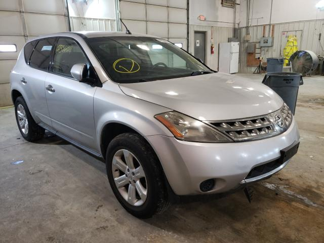 Salvage cars for sale from Copart Columbia, MO: 2006 Nissan Murano SL