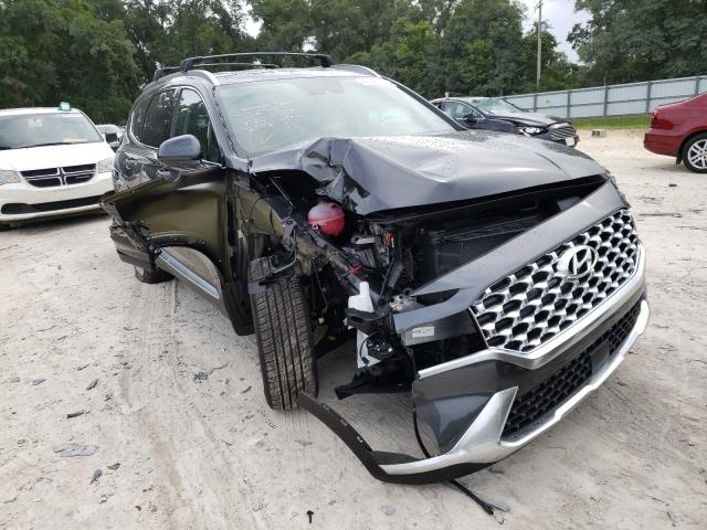 Salvage cars for sale from Copart Ocala, FL: 2021 Hyundai Santa FE S