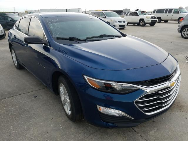 Salvage cars for sale from Copart New Orleans, LA: 2019 Chevrolet Malibu LS
