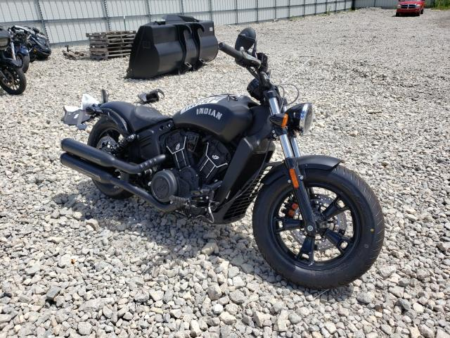 Salvage cars for sale from Copart Appleton, WI: 2021 Indian Motorcycle Co. Scout Bobb