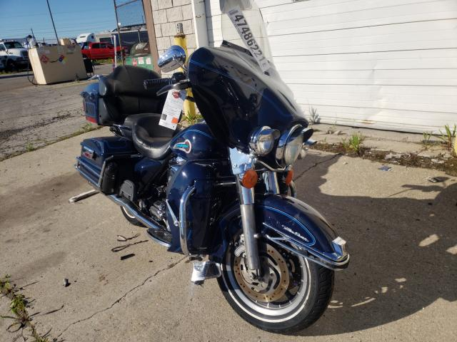 Salvage cars for sale from Copart Woodhaven, MI: 2004 Harley-Davidson Flhtcui SH