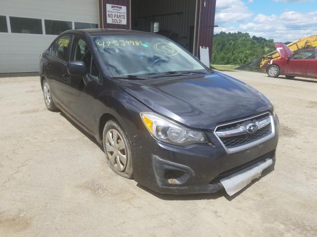 Salvage cars for sale from Copart West Warren, MA: 2012 Subaru Impreza