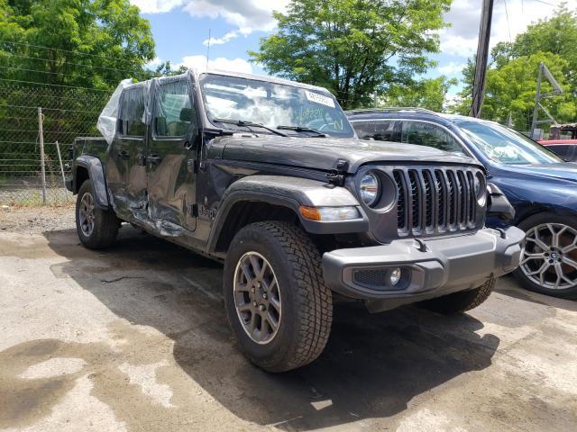 Jeep Gladiator salvage cars for sale: 2021 Jeep Gladiator