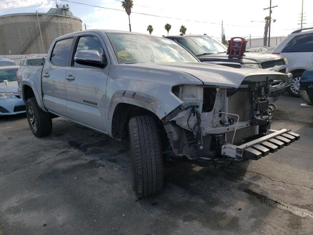 Salvage cars for sale from Copart Wilmington, CA: 2019 Toyota Tacoma DOU