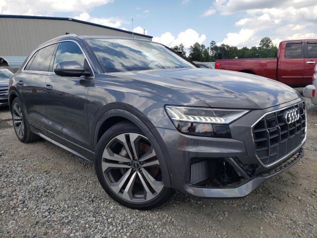 Audi Q8 Prestige salvage cars for sale: 2021 Audi Q8 Prestige