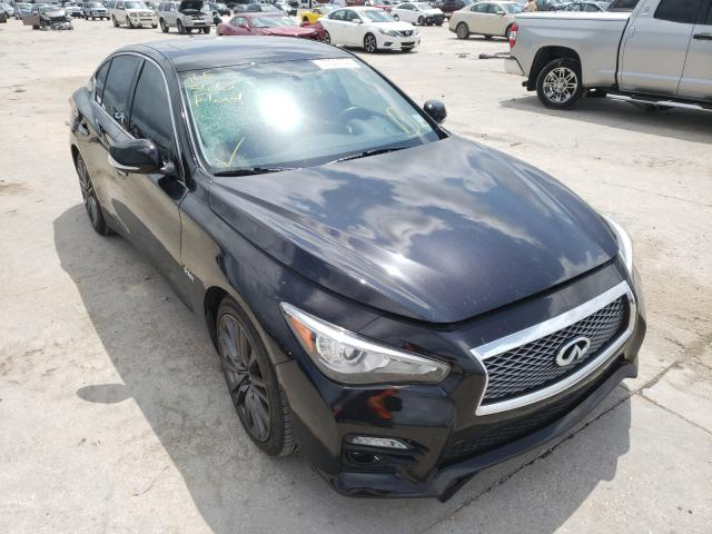 Infiniti salvage cars for sale: 2016 Infiniti Q50 RED SP