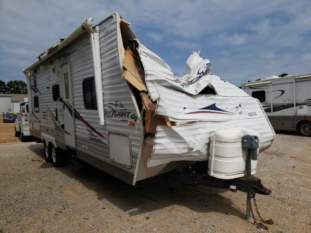 Salvage cars for sale from Copart Longview, TX: 2009 Jayco Trailer