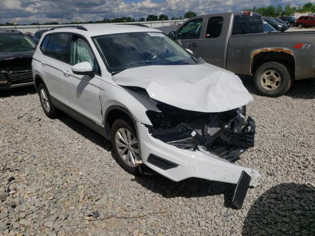 Salvage cars for sale from Copart Appleton, WI: 2020 Volkswagen Tiguan S
