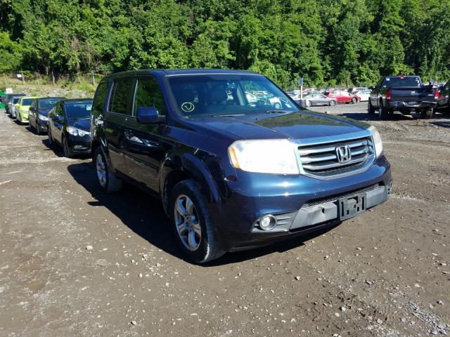 Salvage cars for sale from Copart Marlboro, NY: 2012 Honda Pilot EXL