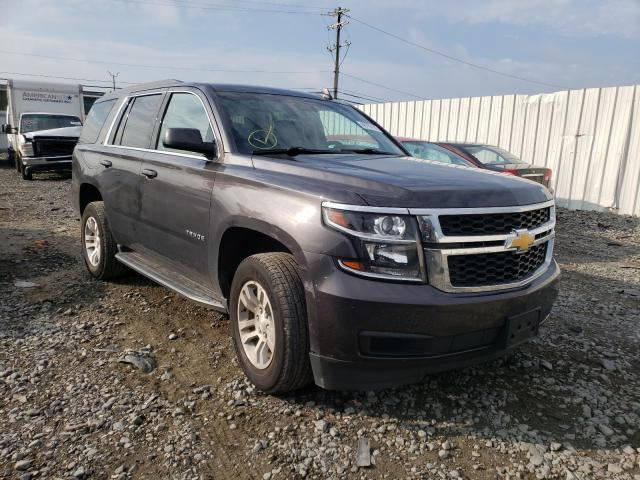 Salvage cars for sale from Copart Windsor, NJ: 2018 Chevrolet Tahoe K150