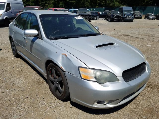 Salvage cars for sale from Copart Graham, WA: 2005 Subaru Legacy GT
