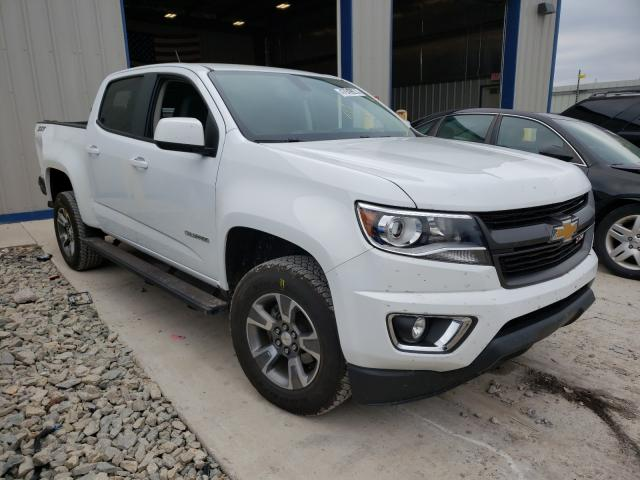 Salvage cars for sale from Copart Appleton, WI: 2018 Chevrolet Colorado Z