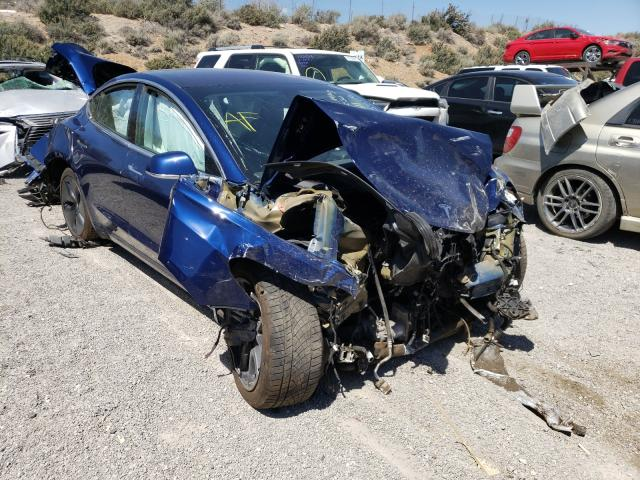 Salvage cars for sale from Copart Reno, NV: 2018 Tesla Model 3