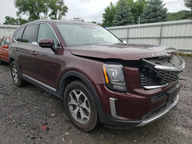 Salvage cars for sale from Copart Albany, NY: 2020 KIA Telluride