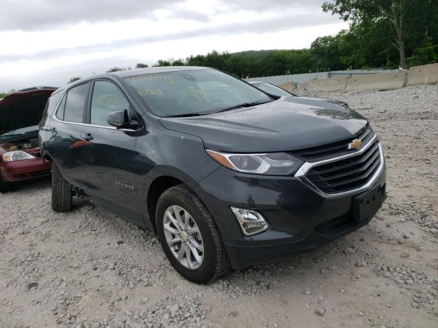 Salvage cars for sale from Copart West Warren, MA: 2021 Chevrolet Equinox LT