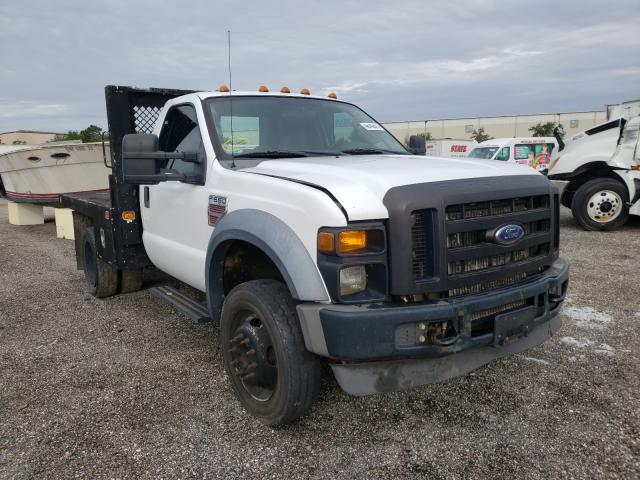 Salvage trucks for sale at Orlando, FL auction: 2008 Ford F550 Super