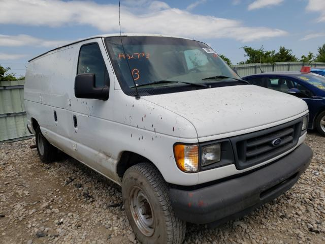 Salvage cars for sale from Copart Kansas City, KS: 2003 Ford Econoline