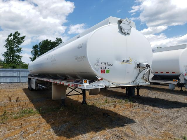 Salvage trucks for sale at Dyer, IN auction: 1995 Heil Tanker