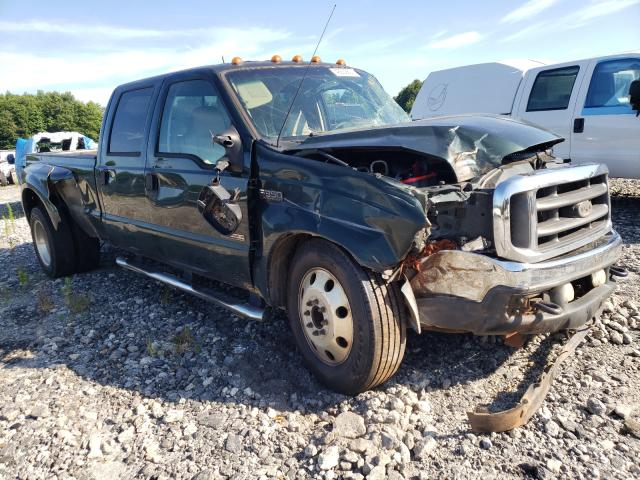 Salvage cars for sale from Copart Spartanburg, SC: 2003 Ford F350 Super