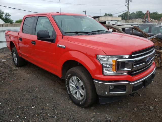 Salvage cars for sale from Copart Hillsborough, NJ: 2018 Ford F150 Super