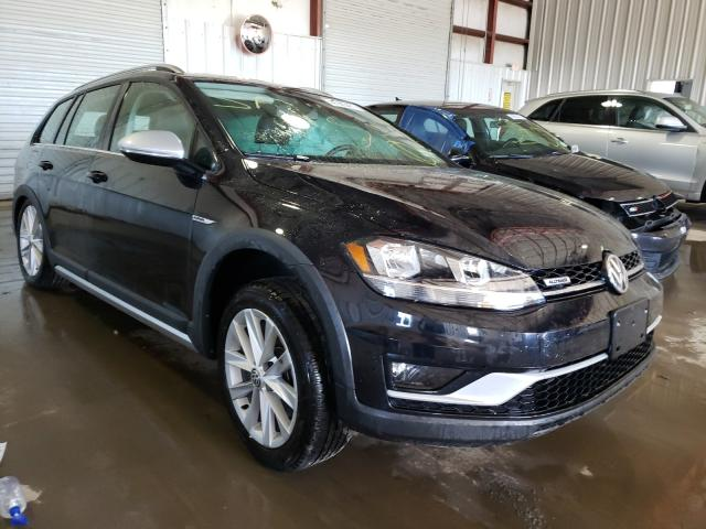 Salvage cars for sale from Copart Albany, NY: 2019 Volkswagen Golf Alltr