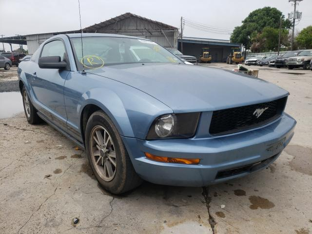 Salvage cars for sale from Copart Corpus Christi, TX: 2005 Ford Mustang