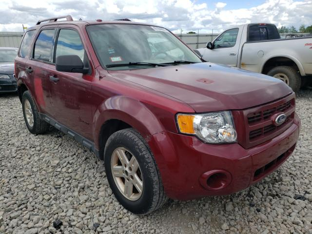 Salvage cars for sale from Copart Appleton, WI: 2012 Ford Escape Hybrid