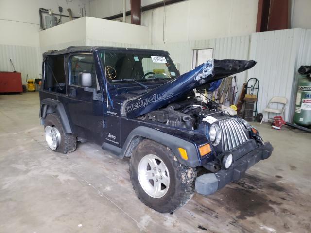 Vehiculos salvage en venta de Copart Lufkin, TX: 2004 Jeep Wrangler